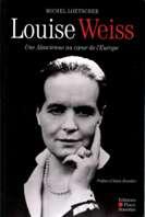 """Couverture du livre """"Louise Weiss"""""""