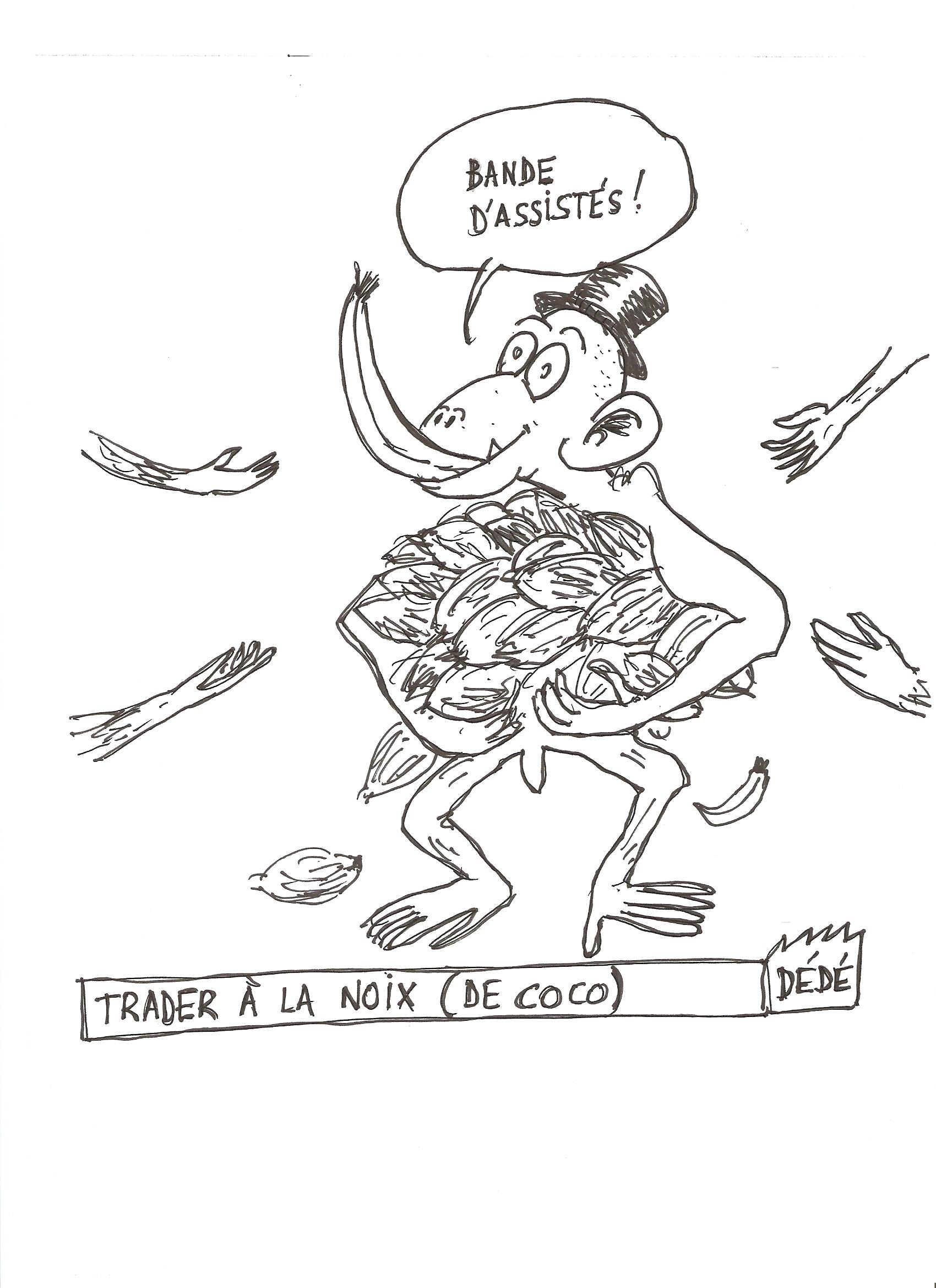 Trader à la noix